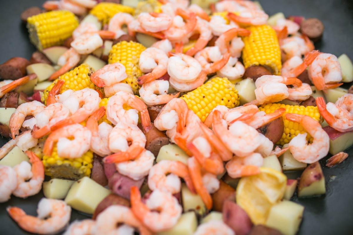 Crazy Kettle Shrimp Boil